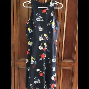 Banana Republic Floral Dress.  Size 6